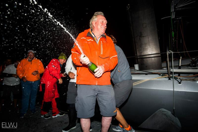 Monohull line honours for George David's Rambler 88 in the 47th Rolex Fastnet Race - photo © ELWJ Photography