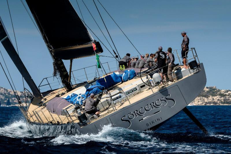 The new Southern Wind 96 Sorceress has already shown impressive performance and the long transatlantic race will also allow the boat to show off her capabilities - photo © Rolex / Carlo Baroncini