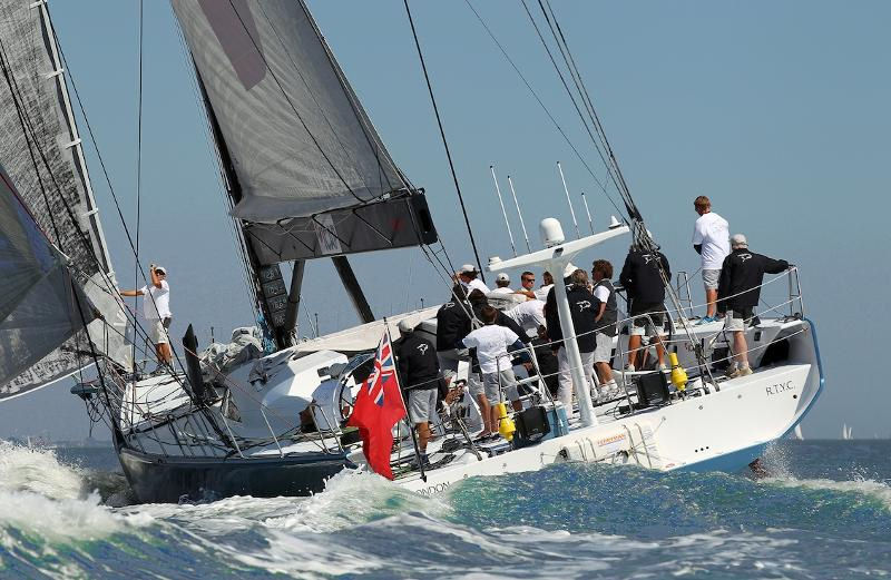 ICAP Leopard in training ahead of the RORC Caribbean 600