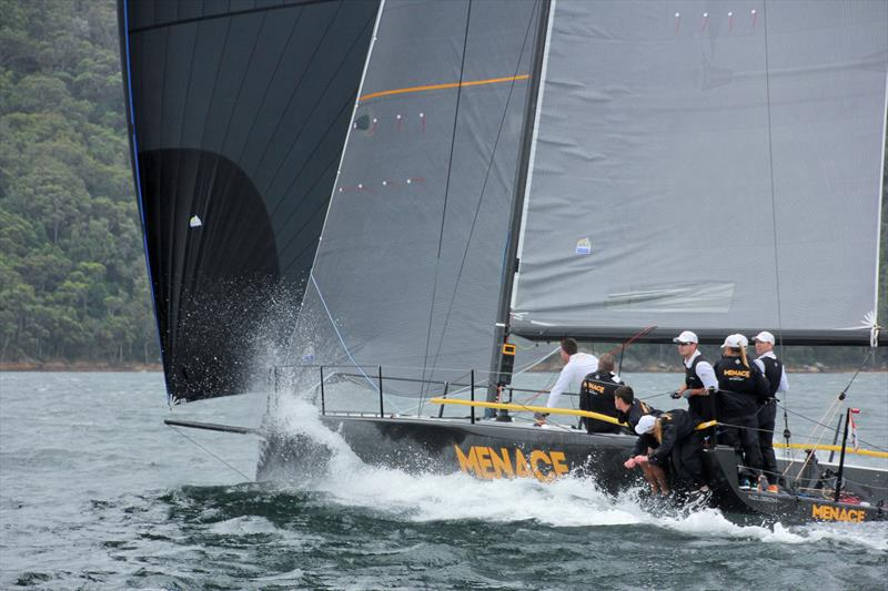 Boat of the day Menace on day 1 of the MC38 Australian Championship - photo © Nic Douglass / Adventures of a Sailor Girl