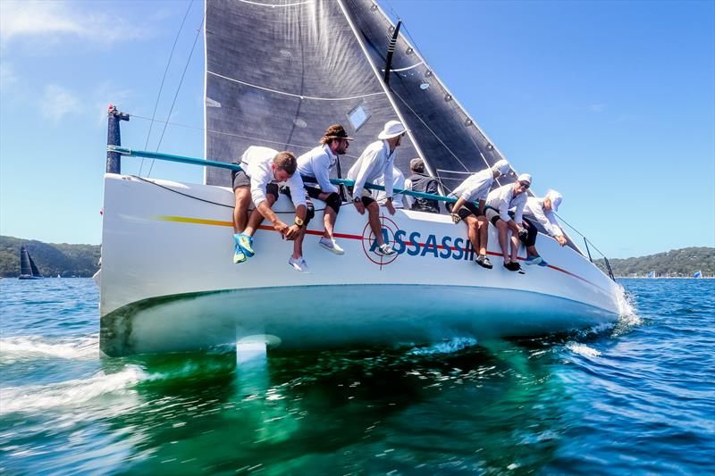 Clare Crawford's Assassin on day 2 of the MC38 Australian Championship - photo © Craig Greenhill / Saltwater Images