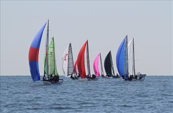 Audi Melges 20 Bacardi Miami Sailing Week day 1