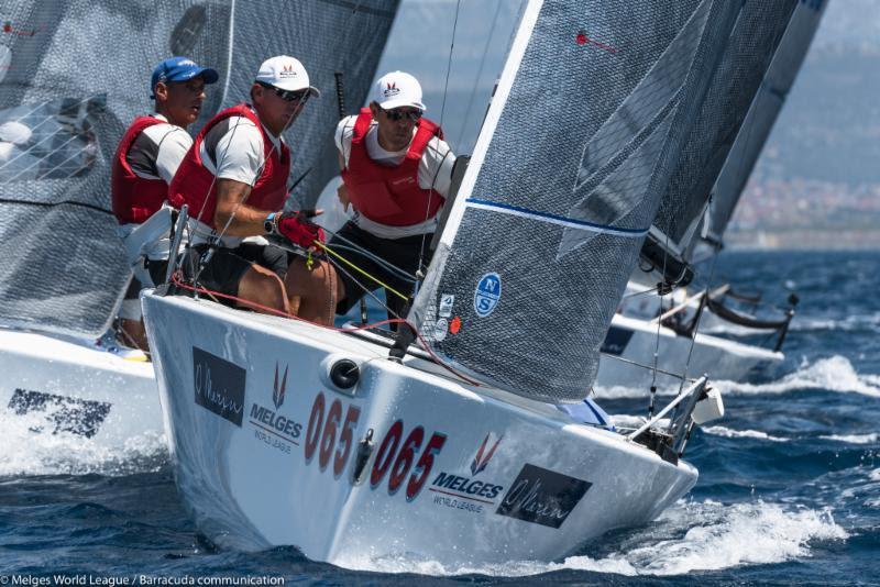 Melges 20 European Championship at Sibenik day 2 - photo © Melges World League / Barracuda Communication