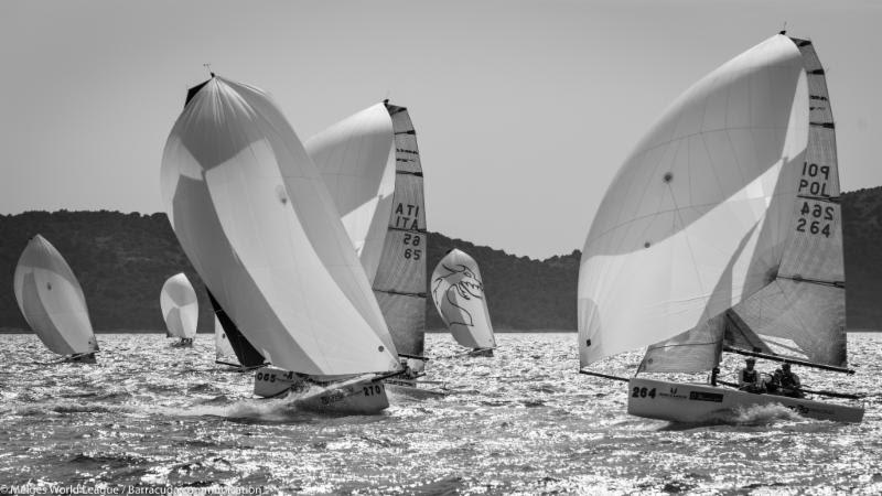 Melges 20 European Championship at Sibenik day 3 - photo © Melges World League / Barracuda Communication