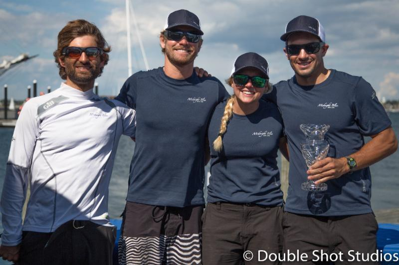 Midnight Blue finishes 3rd in the Melges 20 U.S. Nationals - photo © Double Shot Studios
