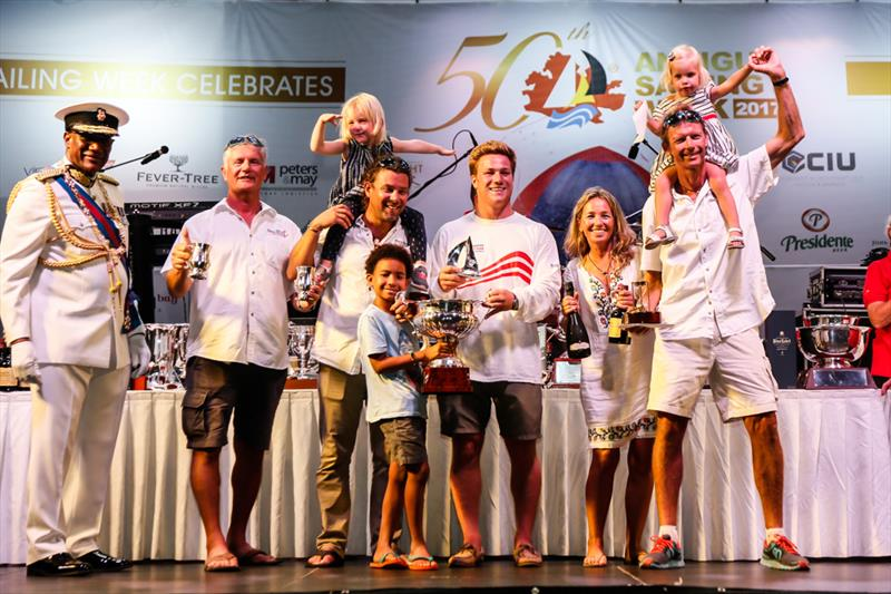 Fritz Bus's St. Maarten Melges 24, Team Island Water World at the 50th Antigua Sailing Week - photo © Paul Wyeth / www.pwpictures.com