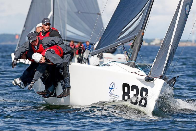 American entry Mikey USA838 on day 3 of the Melges 24 Worlds in Heksinki - photo © Pierrick Contin / www.pierrickcontin.com