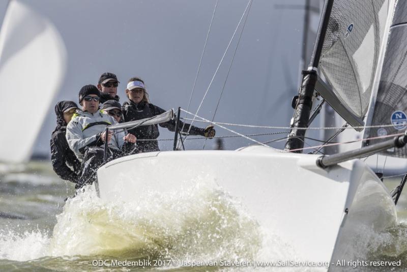 Miles Quinton's Gill Race Team during the Melges 24 European Sailing Series Medemblik - photo © Klaas Wiersma