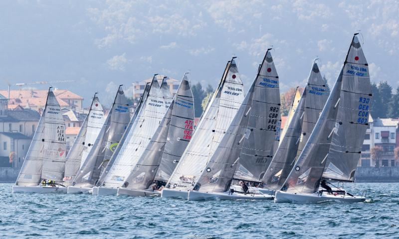 Racing on day 1 of the Melges 24 Lino Favini Cup - photo © IM24CA / ZGN