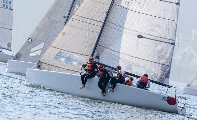 TAKI 4 on day 2 of the Melges 24 Lino Favini Cup - photo © IM24CA / ZGN