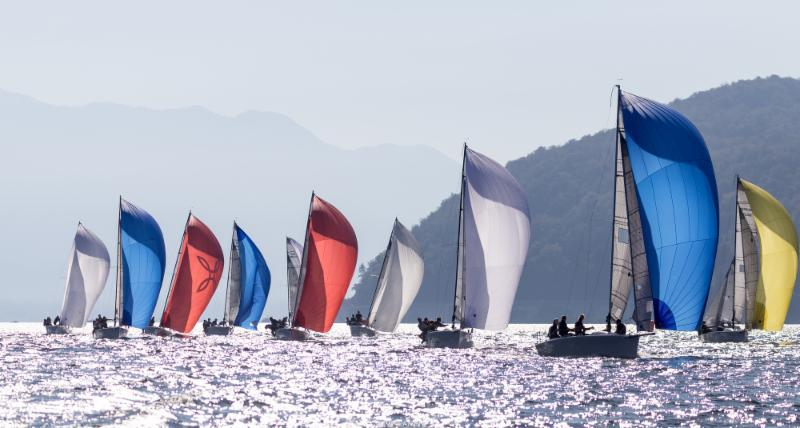 The fleet at the Melges 24 Lino Favini Cup - photo © IM24CA / ZGN