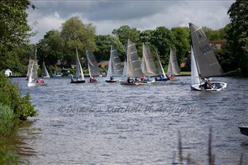 The Silver Tiller series comes to Cookham, and brings the wind with it