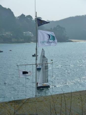 The March open meeting gives the Merlin fleet a pratice ahead of Salcombe Week