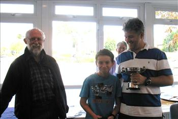 Richard and Harry Harris win the Sondown Cup at Tamesis