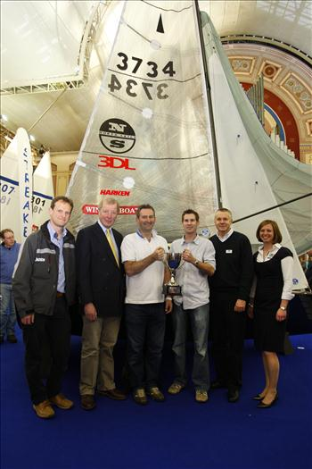 The Merlin Rocket class win the 2012 Spitfire Premium Ale Concours d'Elegance award