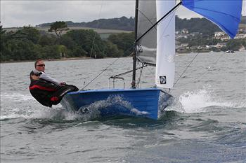 Midweek action from Salcombe Week 2012