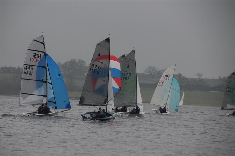 Blithfield Barrel Series Round 4 photo copyright Pete Slack taken at Blithfield Sailing Club and featuring the Merlin Rocket class