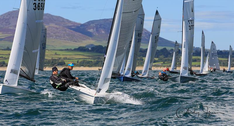 Aspire  Merlin Rocket Championship at Pwllheli day 3 - photo © Andy Green / www.greenseaphotography.co.uk