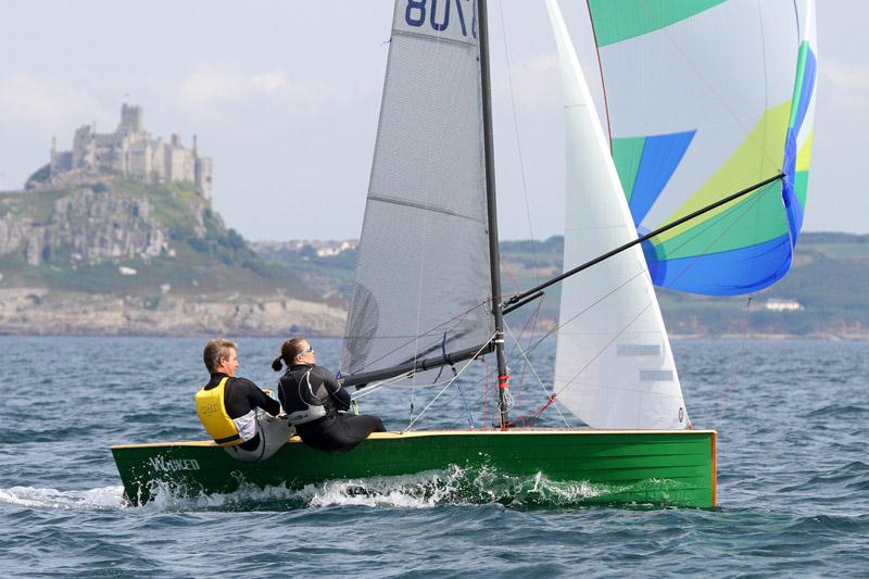 Merlin Rocket nationals at Penzance day 1