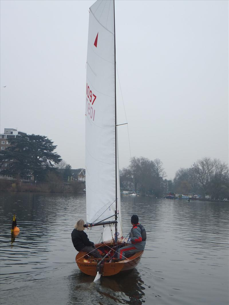 Rowsell Sails Merlin Rocket Travellers Week 6 photo copyright Chris Balmbro taken at Tamesis Club and featuring the Merlin Rocket class