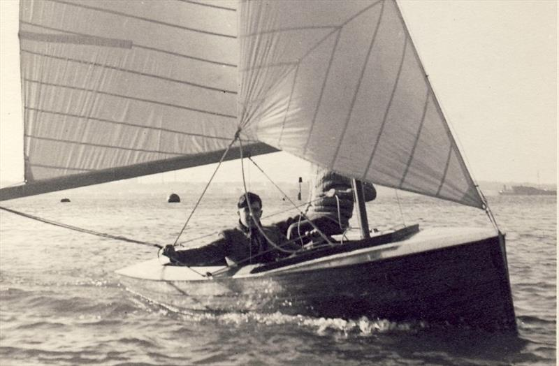 Merlin 290 'Cumulus : Despite suffering from major disability, Ian Proctor, with crew Cliff Norbury, would be fierce competitors out afloat, winning the Merlin Rocket National Championships and many more - photo © Proctor Family