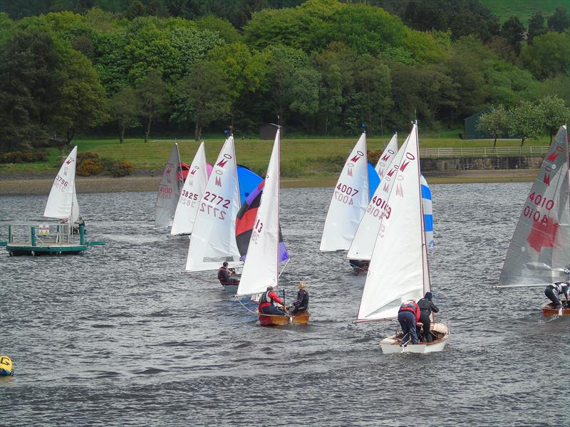 Miracle Northerns at Delph photo copyright Steve Starbuck taken at Delph Sailing Club and featuring the Miracle class