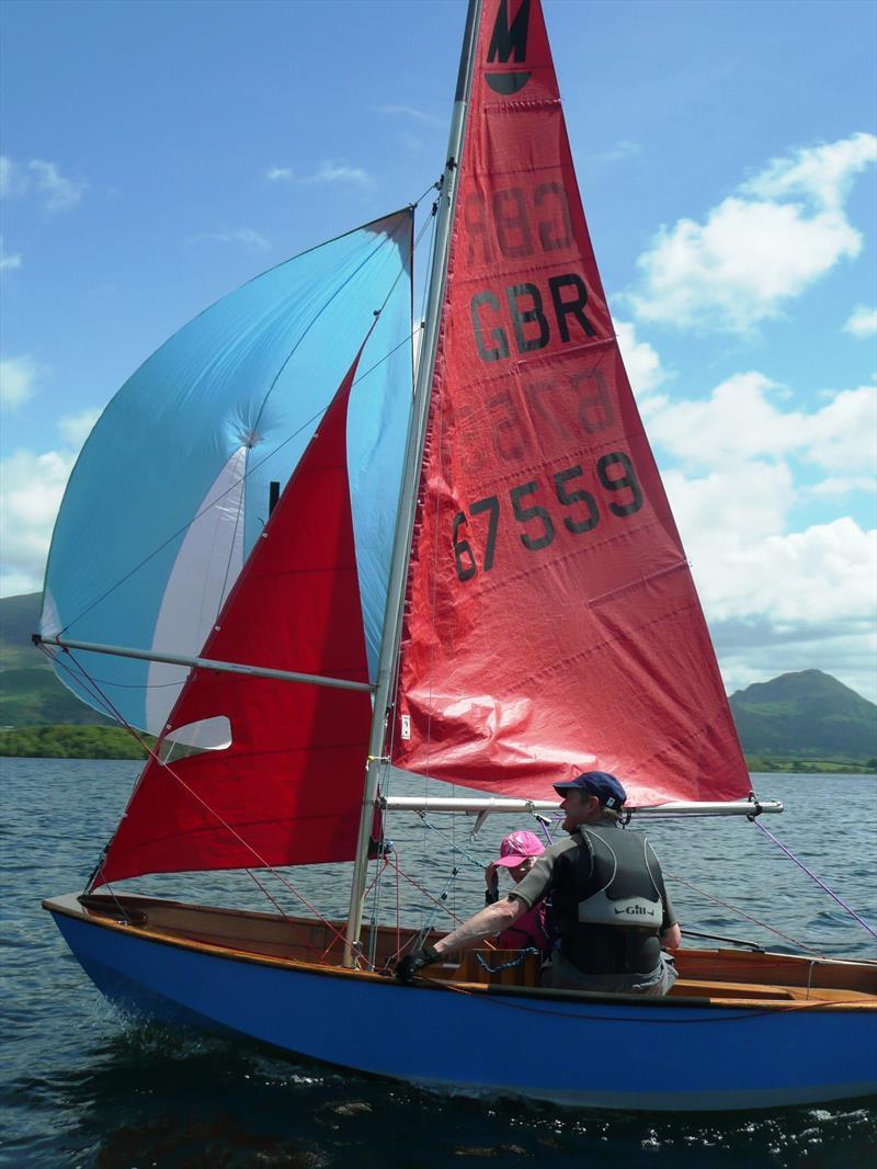 Mirror northern traveller round 4 at bassenthwaite sailing for Mirror yacht