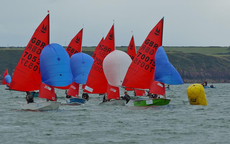 2013 Mirror nationals at Pembrokeshire - photo © Adrian Owens