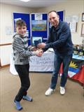 Richard Denny, 1st Junior in 'Antigua Sailing Day' at St Edmundsbury - photo © Mike Steele