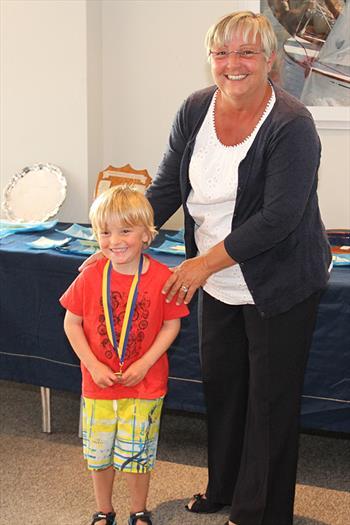 Pyefleet Week prize giving