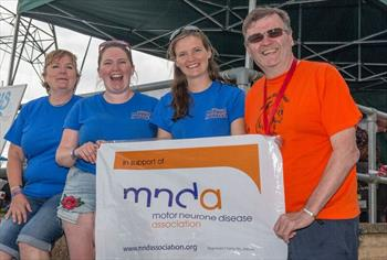 Burghfield sailing club nervous wrecks charity for Motor neurone disease support