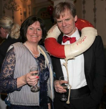Lifejackets were the theme at the NE Sailing Ball