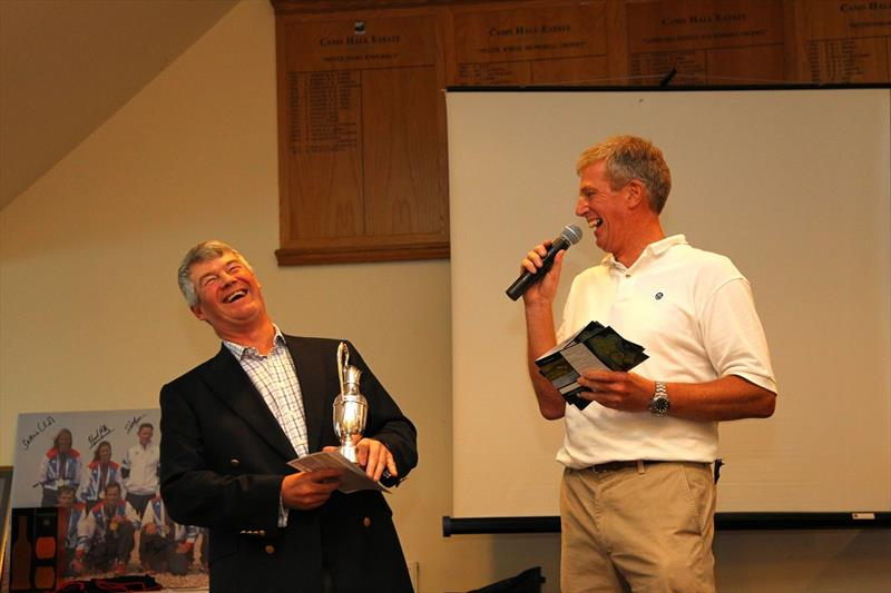 Mark Lee wins the 17th North Sails Golf Day for the John Merricks Sailing Trust - photo © Richard Langdon / www.oceanimages.co.uk