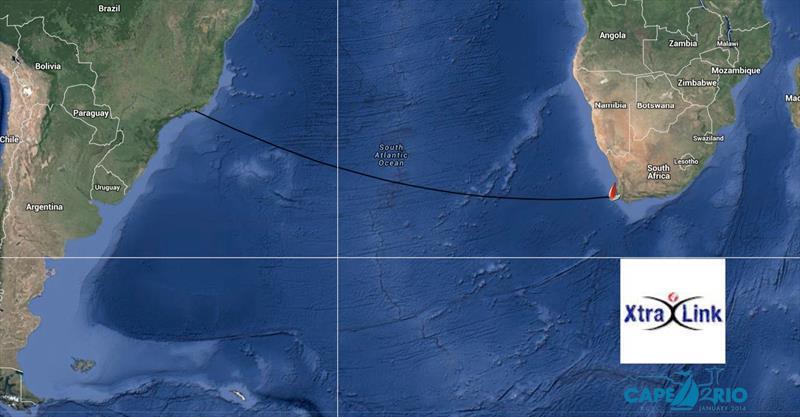 Cape to Rio Course: Cape Town to Rio de Janeiro 3300nm