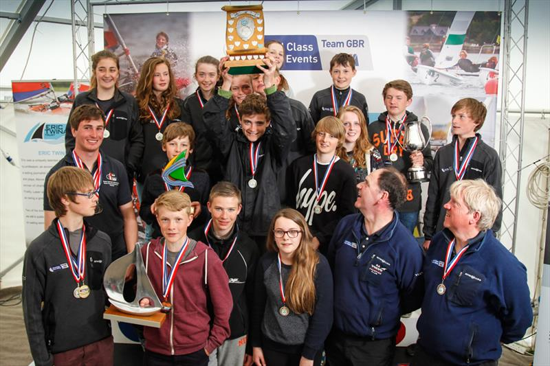 2014 RYA Eric Twiname Championships prize winners - photo © Paul Wyeth / RYA