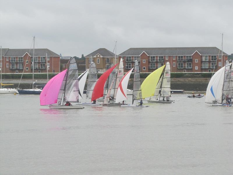 Start Line Medway Regatta