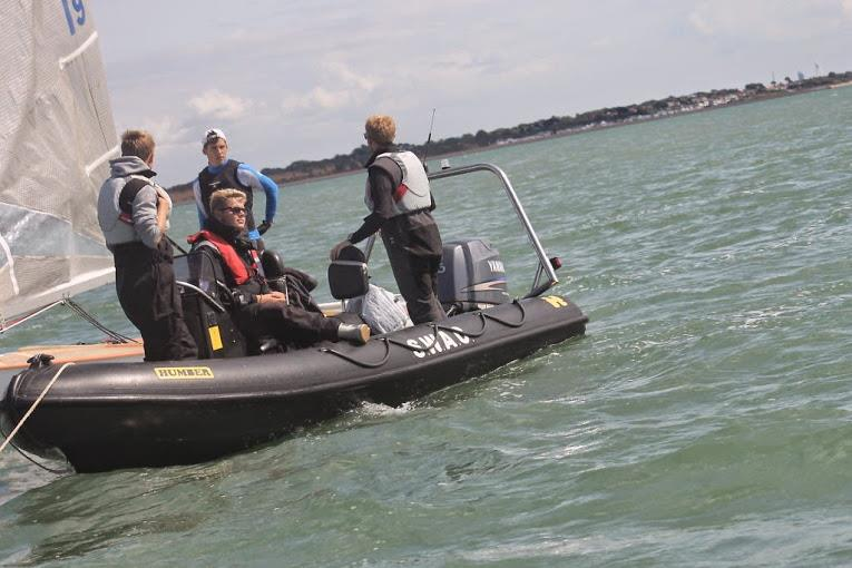 Coaching at GJW Direct SailFest - photo © SailRacer