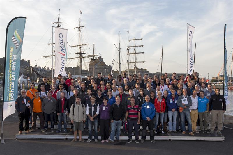 The 91 skippers ahead of La Route du Rhum-Destination Guadeloupe