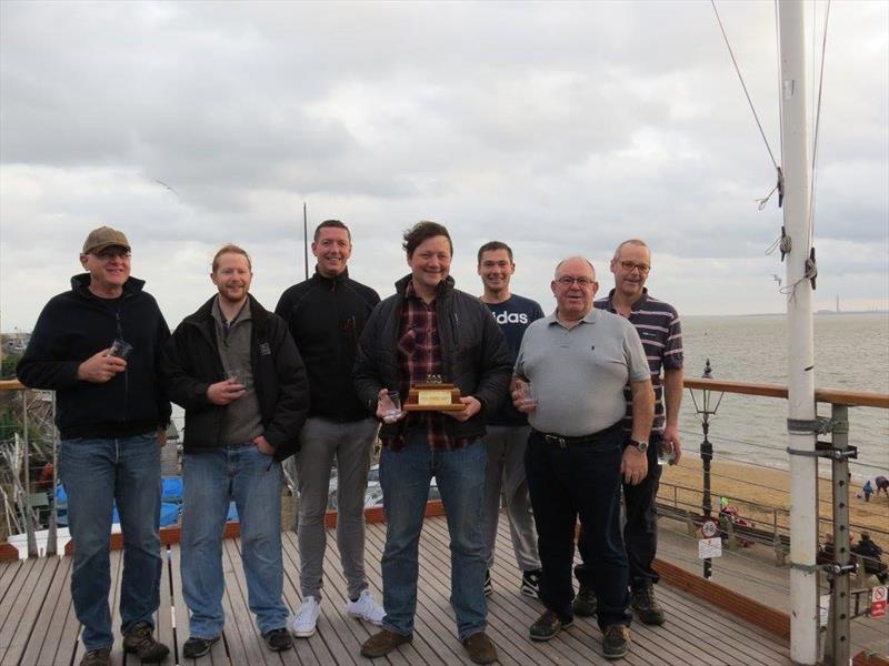 Leigh-on-Sea SC Brass Monkey prize winners - photo © Carol Charles