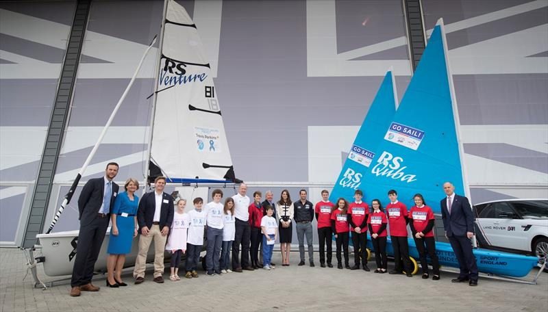 HRH with the 1851's 2016 Sailing Projects - photo © Lloyd Images / Ben Ainslie Racing