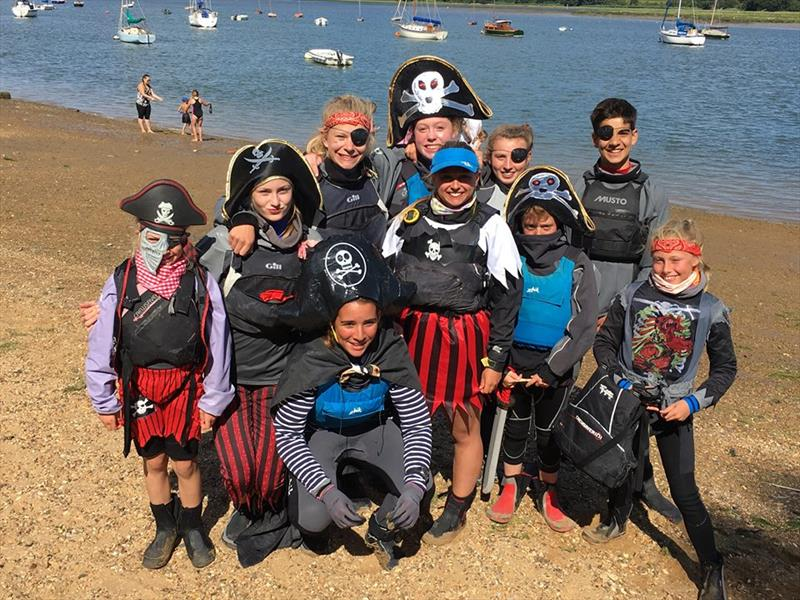 Pirates at Waldringfield Cadet Week! - photo © Andrew Nunn