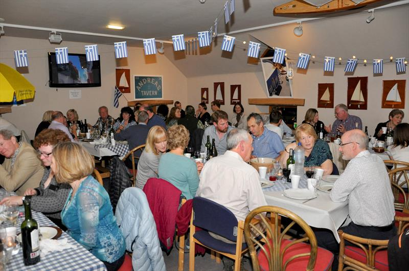 Light Greek night for the East Lothian Yacht Club Prize Giving photo copyright David Farmer taken at East Lothian Yacht Club