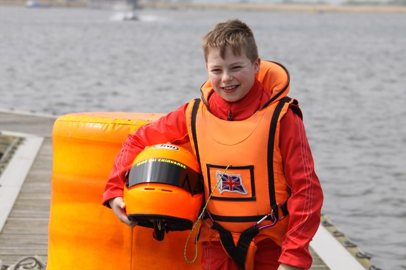 Thomas Mantripp, aged 15, RYA British powerboat GT15 and British Sprint champion - photo © YJA