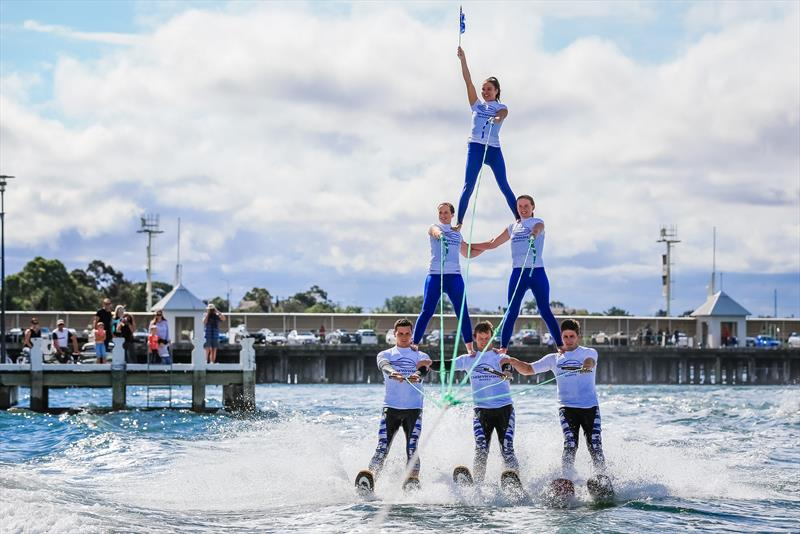 Stars Downunder Waterski and Stunt Show at the Festival of Sails 2016 - photo © Craig Greenhill / Saltwater Images