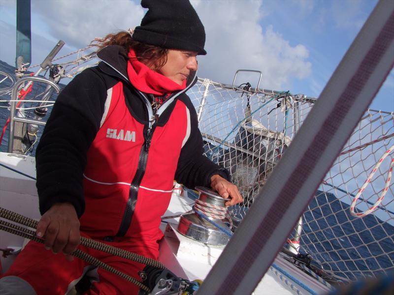 New entrant Izabel Pimentel from Brazil - second female entrant in the Golden Globe Race - photo © Izabel Pimentel