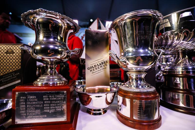 Trophies and prizes at the 50th Antigua Sailing Week - photo © Paul Wyeth / www.pwpictures.com