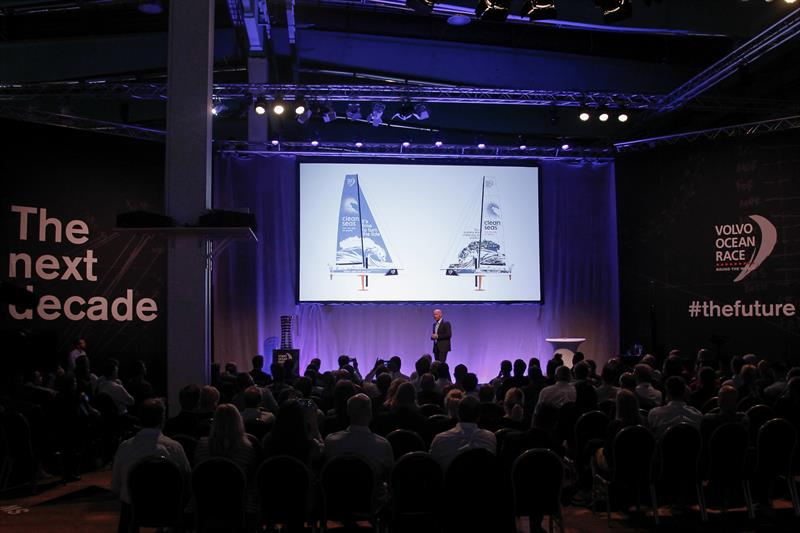 On the 18 May, the Volvo Ocean Race unveiled a series of new initiatives for the future at an event in the Volvo Museum in Gothenburg, Sweden - photo © Ainhoa Sanchez / Volvo Ocean Race