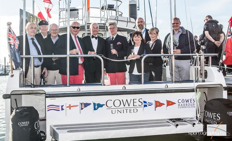 Cowes United is launched - photo © David & Alex Irwin / www.sportography.tv