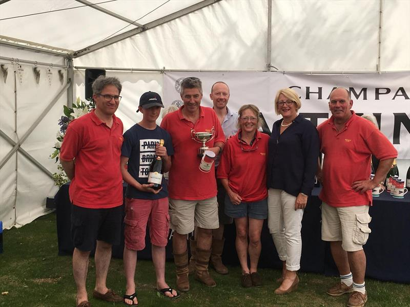 Merak II wins the 10th Taittinger Royal Solent Yacht Club Regatta - photo © Keith Allso, Paul Brown, RSYC