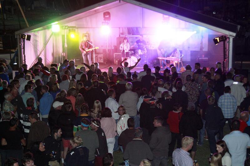 Live band at the Festival of Sails in 2014 - photo © Teri Dodds